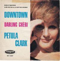 Cover Petula Clark - Downtown [deutsch]